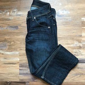 Hudson- Collin flap skinny jeans in color berg